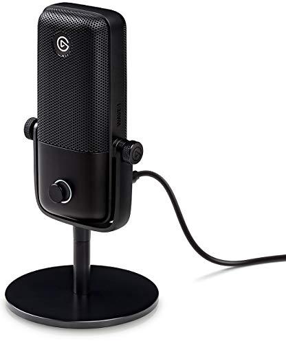 Elgato Wave:1 Micrófono Condensador USB de Calidad y Solución de Mezcla Digital, Tecnología...