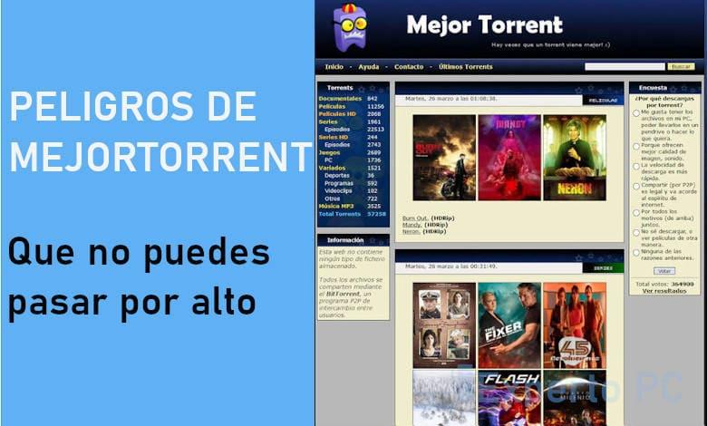 Photo of Estos son los riesgos de usar MejorTorrent que no puedes pasar por alto