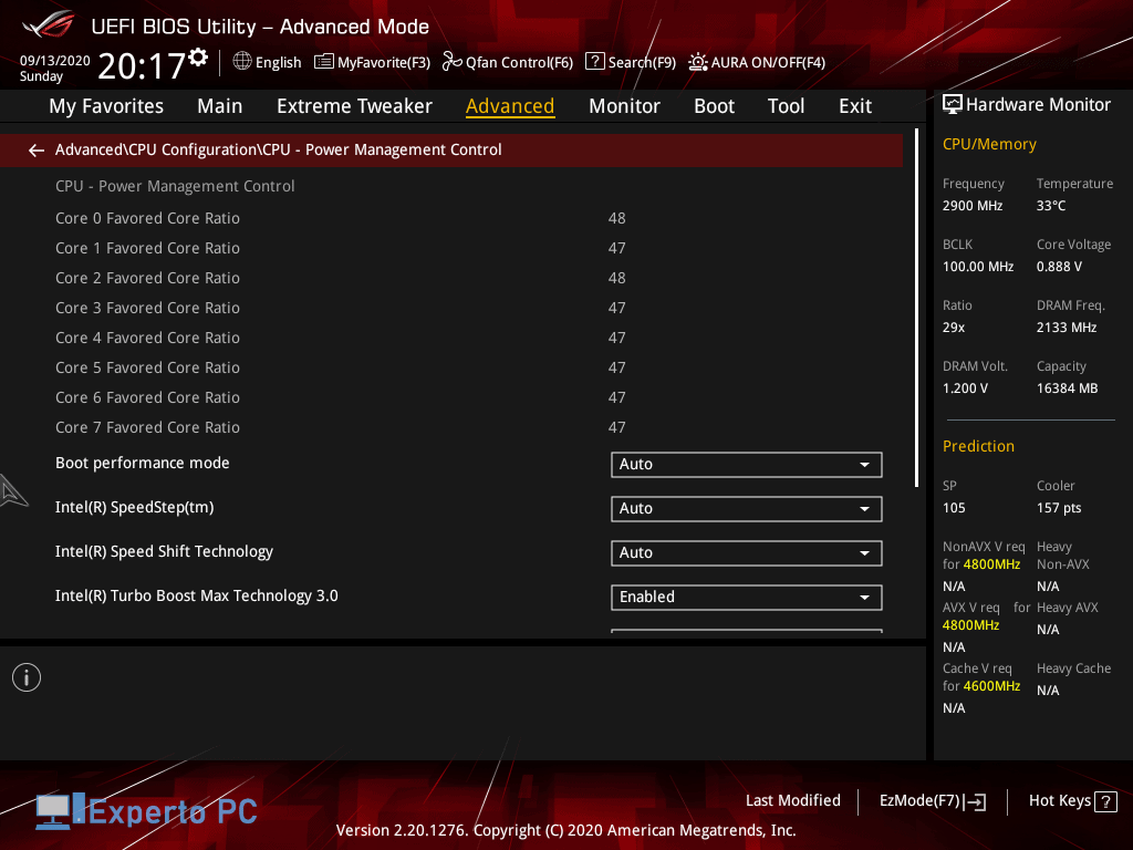 Asus Maximus XII Apex Gaming Review bios 10 49