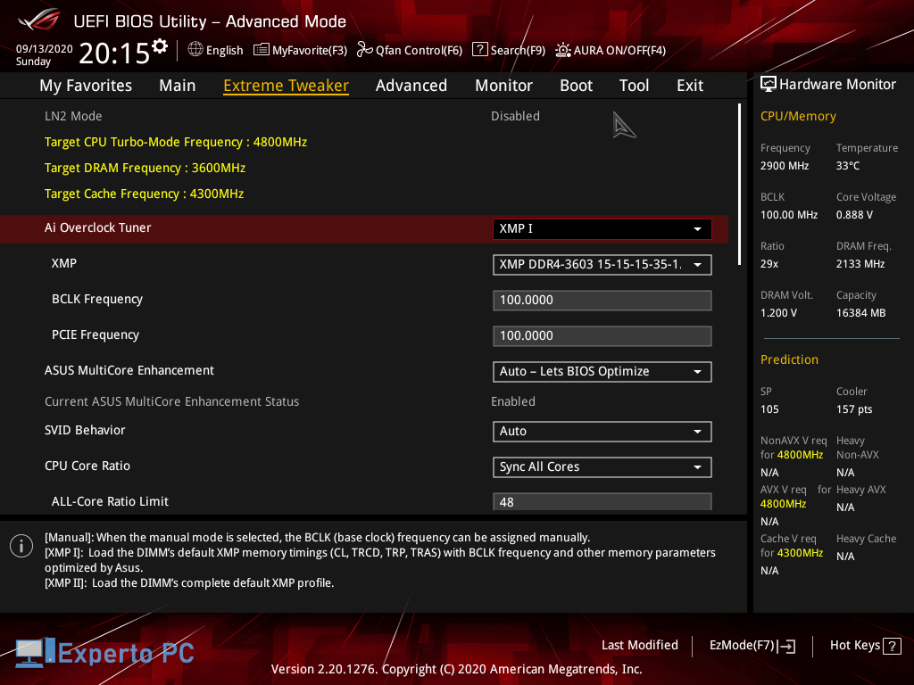 Asus Maximus XII Apex Gaming Review bios 6 41