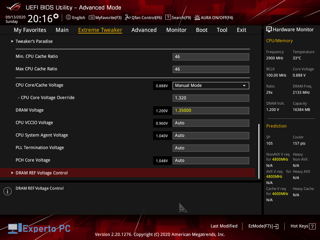 Asus Maximus XII Apex Gaming Review bios 8 45