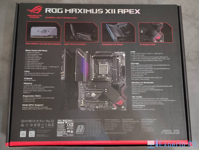 Asus Maximus XII Apex review 2