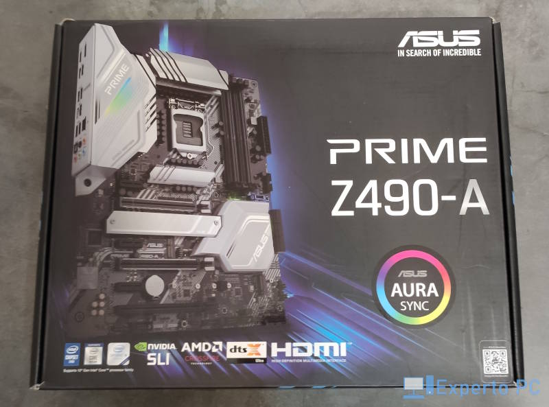 Asus Prime Z490-A Review presentacion