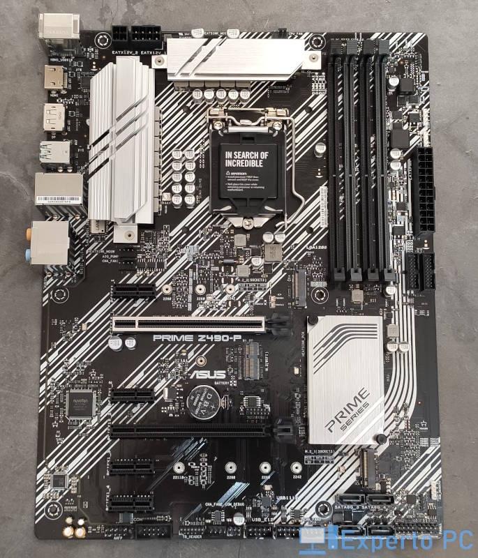 Asus Prime Z490-P Review 1