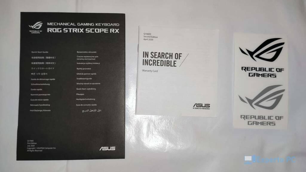 Asus Rog Strix Scope RX bundle 1 10