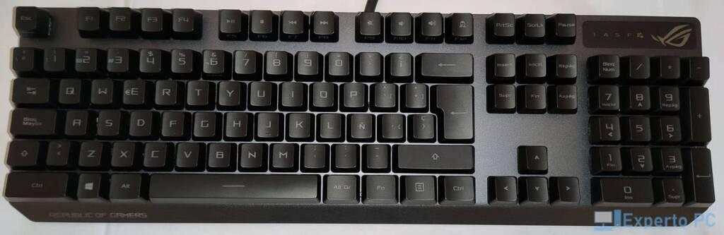 Asus Rog Strix Scope RX teclado1 1 14