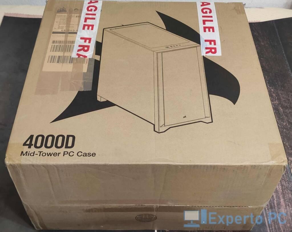 Corsair 4000D caja 1