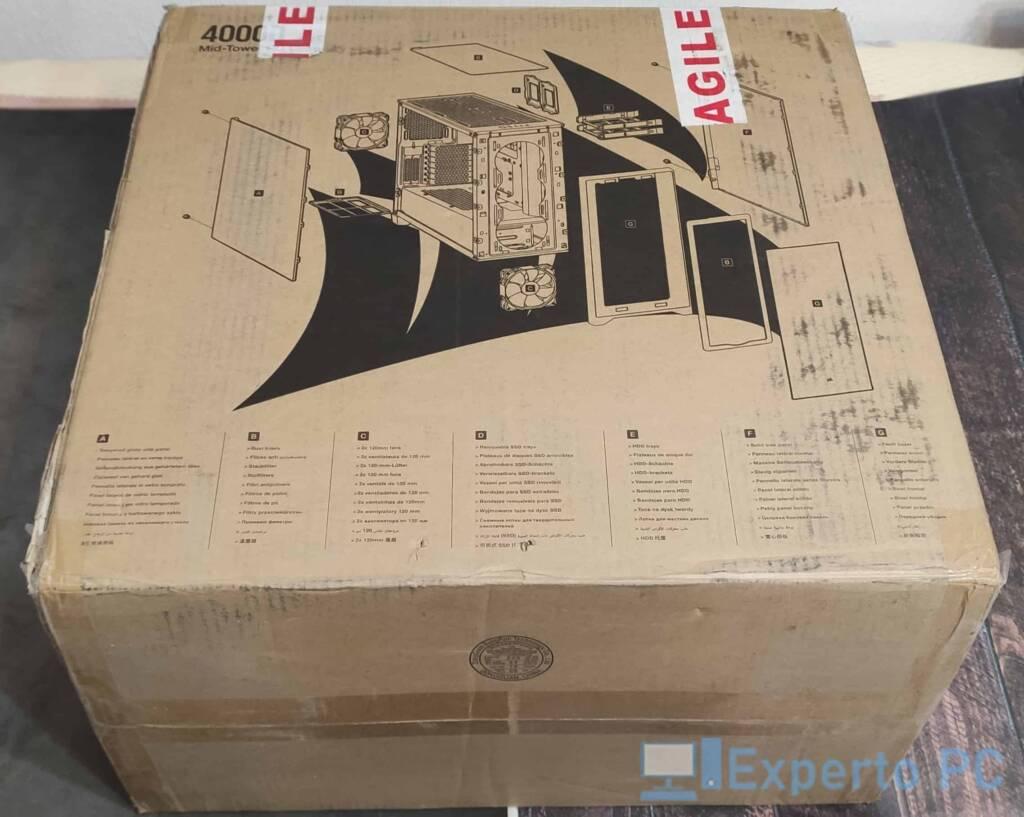 Corsair 4000D caja 2 caracteristicas