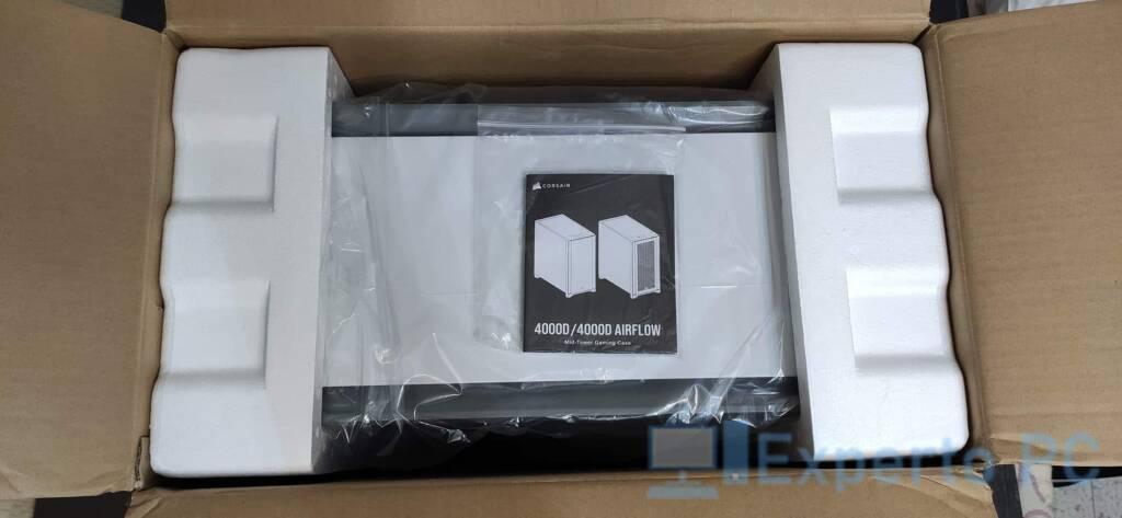 Corsair 4000D apertura caja
