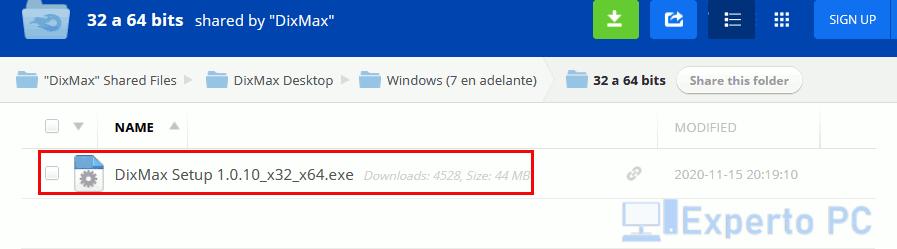 Descargar DixMax gratis para Windows 10 4