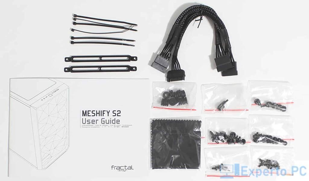 Fractal Design Meshify S2 accesorios