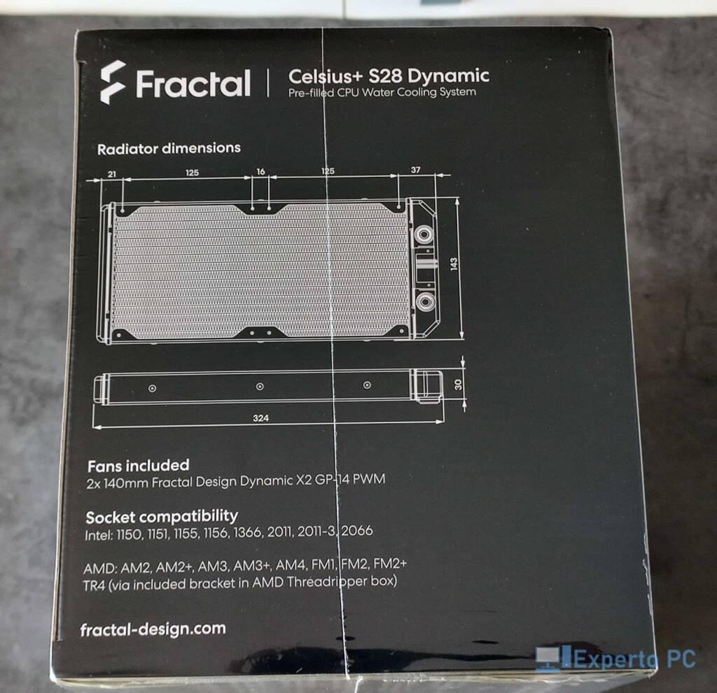 Fractal Design Celsius+ S28 Dynamic caja lateral