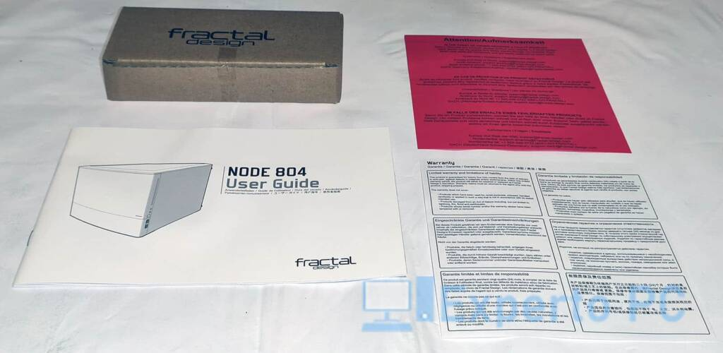 Fractal Design Node 804 bundle 1