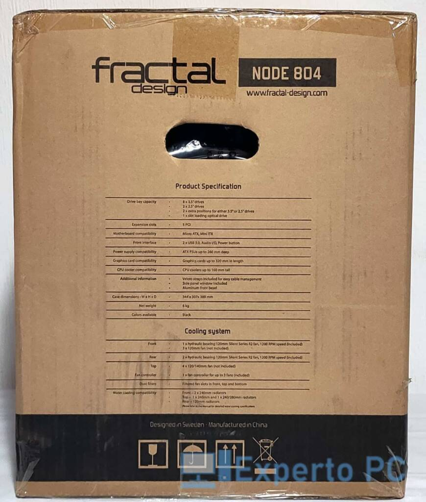 Fractal Design Node 804 lateral