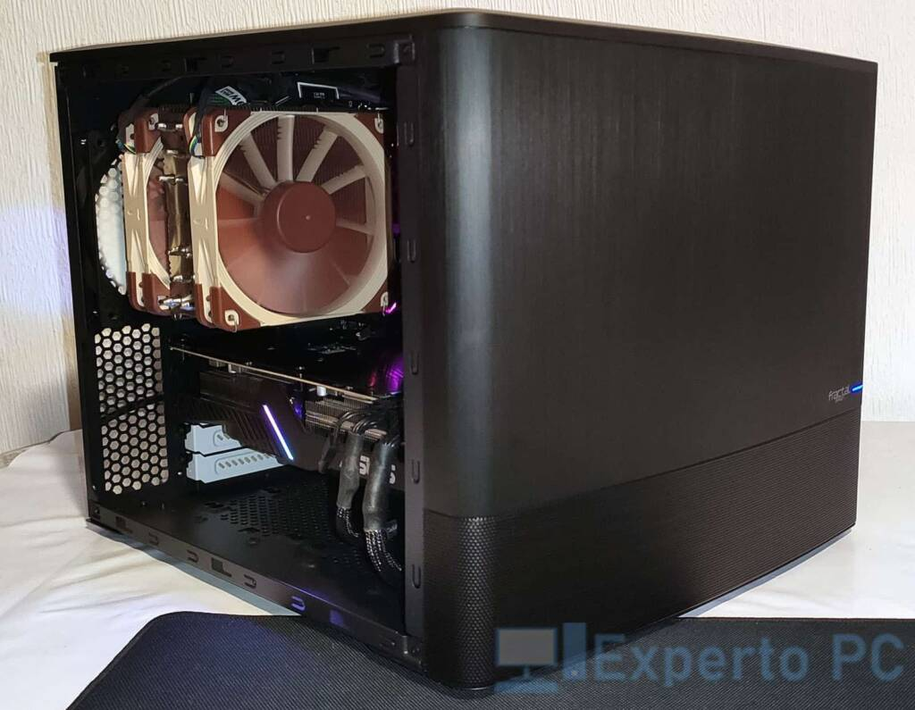 Fractal Design Node 804 montaje final