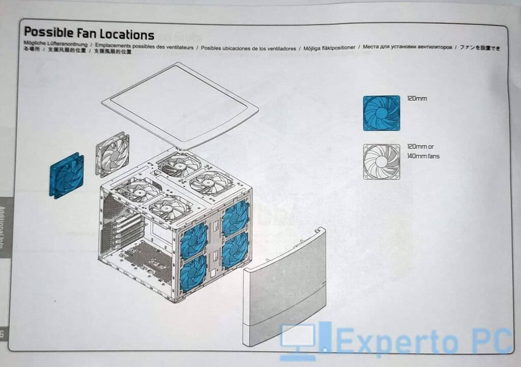 Fractal Design Node 804 Ventilacion 25