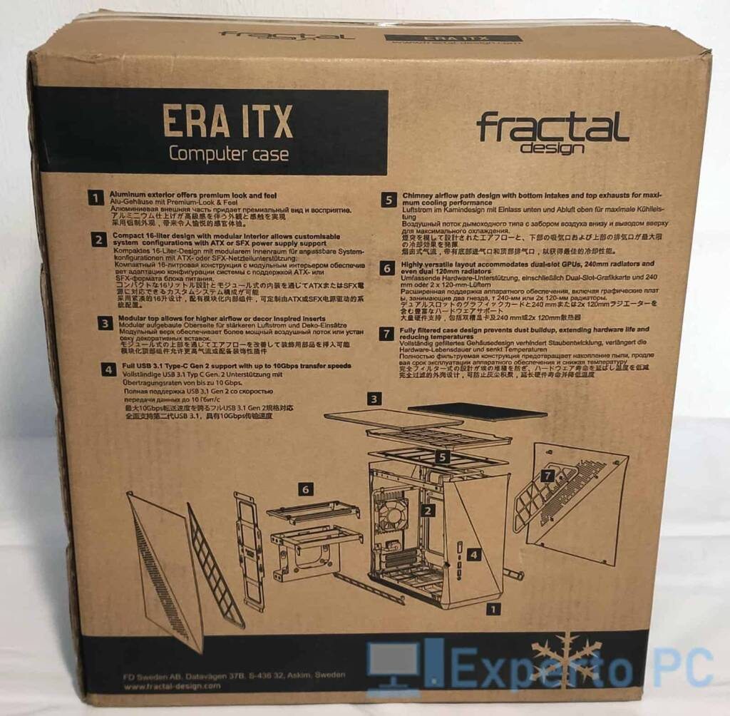 Fractal Design Era ITX caja 1