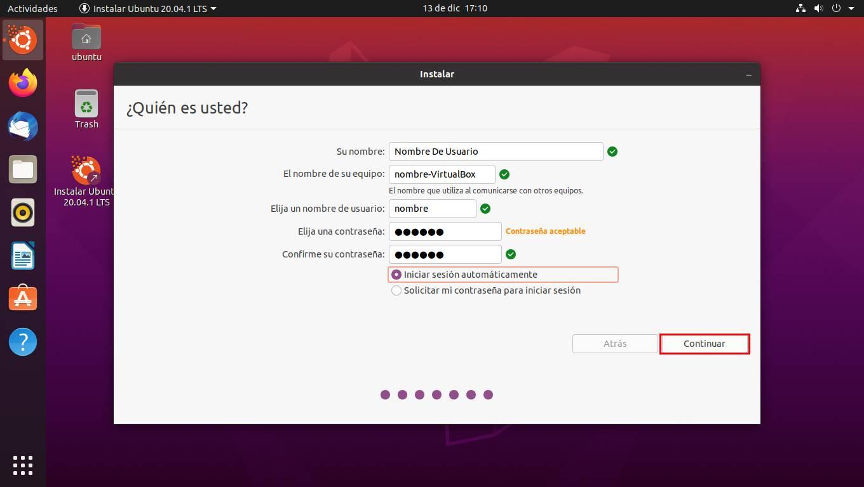 Instalar sistema operativo en VirtualBox 15