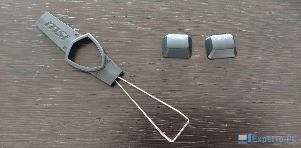 MSI Vigor GK50 Elite accesorios 13