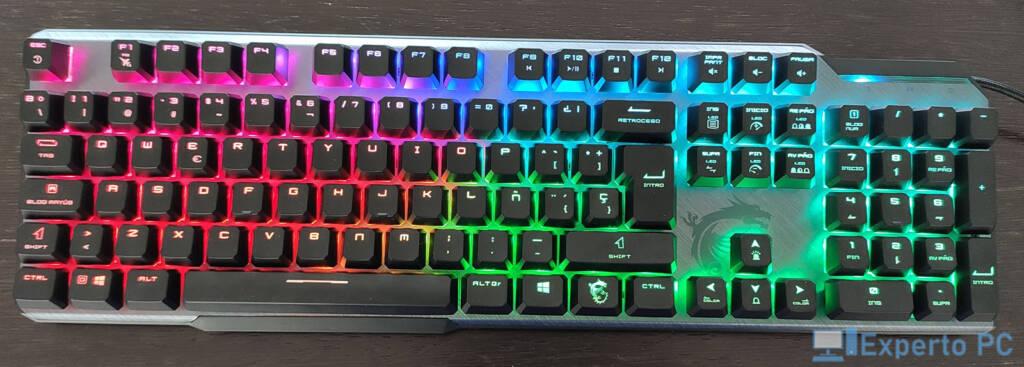 MSI Vigor GK50 Elite iluminacion1 37