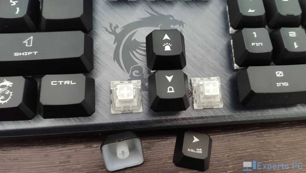 MSI Vigor GK50 Elite switches 31