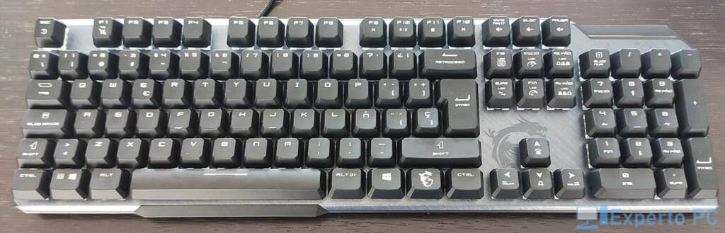 MSI Vigor GK50 Elite teclado1 15