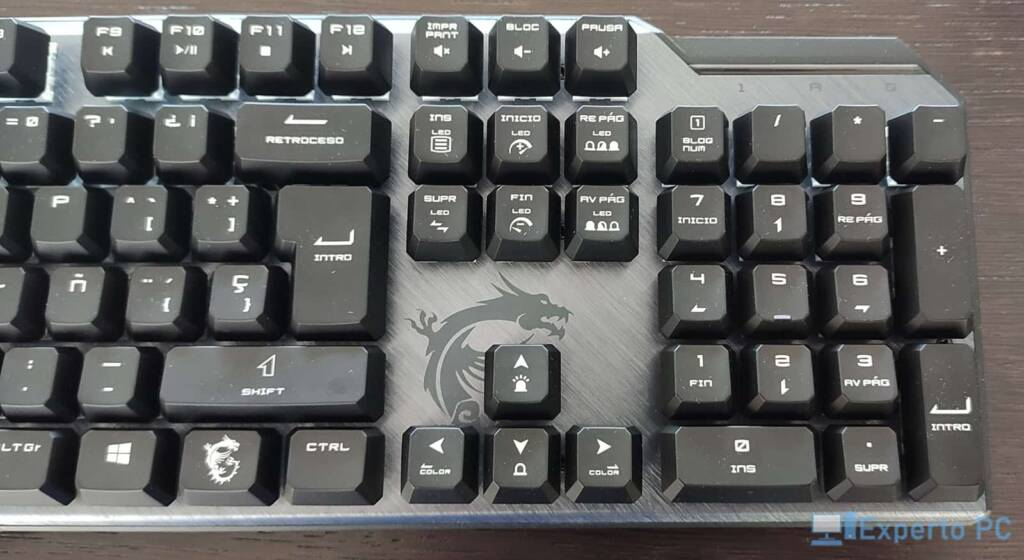 MSI Vigor GK50 Elite teclado2 21