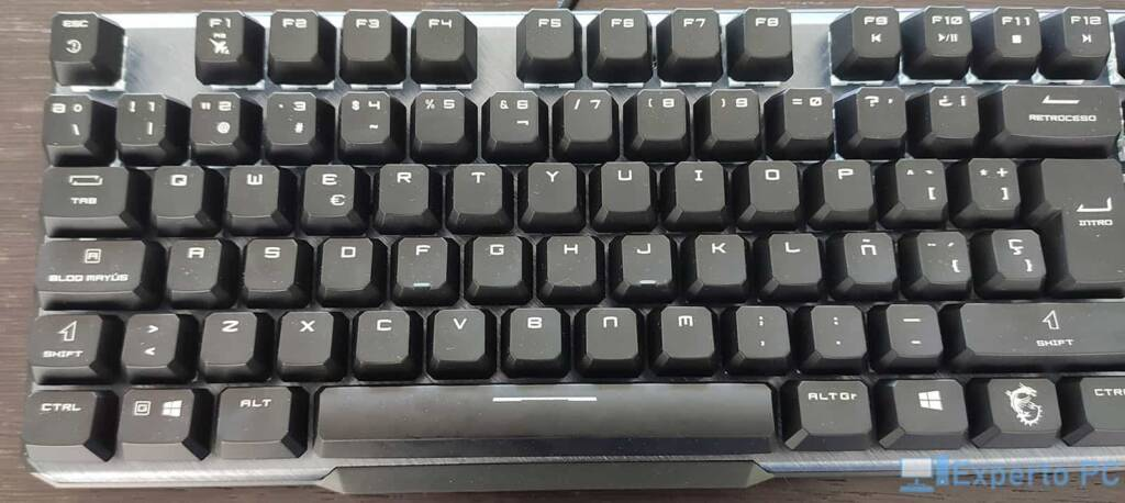 MSI Vigor GK50 Elite teclado3 19