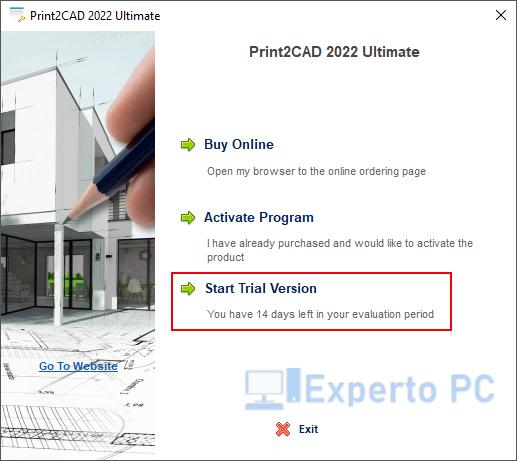 Print2CAD para Windows 10 1