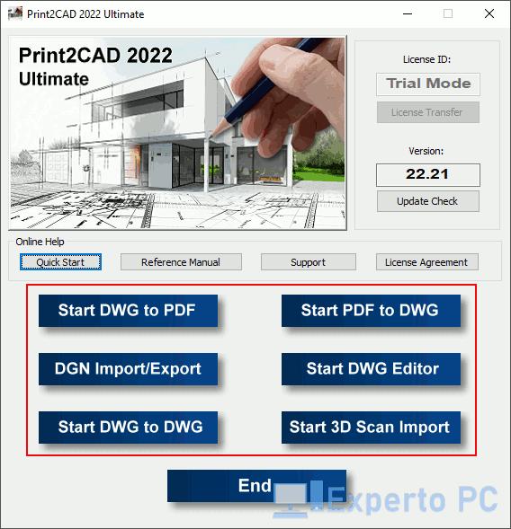Print2CAD para Windows 10 2