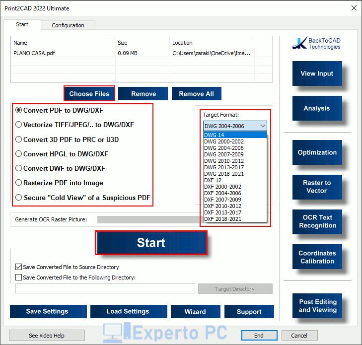 Print2CAD para Windows 10 3