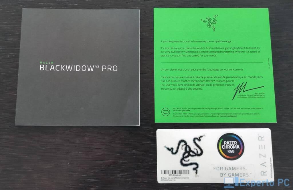 Razer Blackwidow V3 Pro CAJA5 11