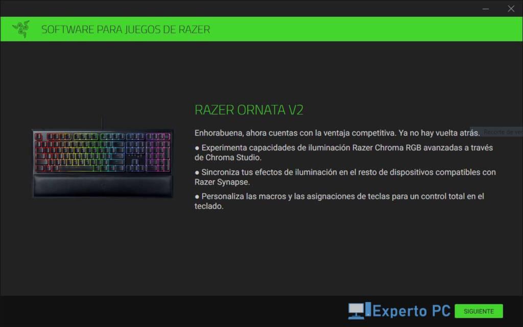 Razer Ornata V2 Review Software Synapse 1 26