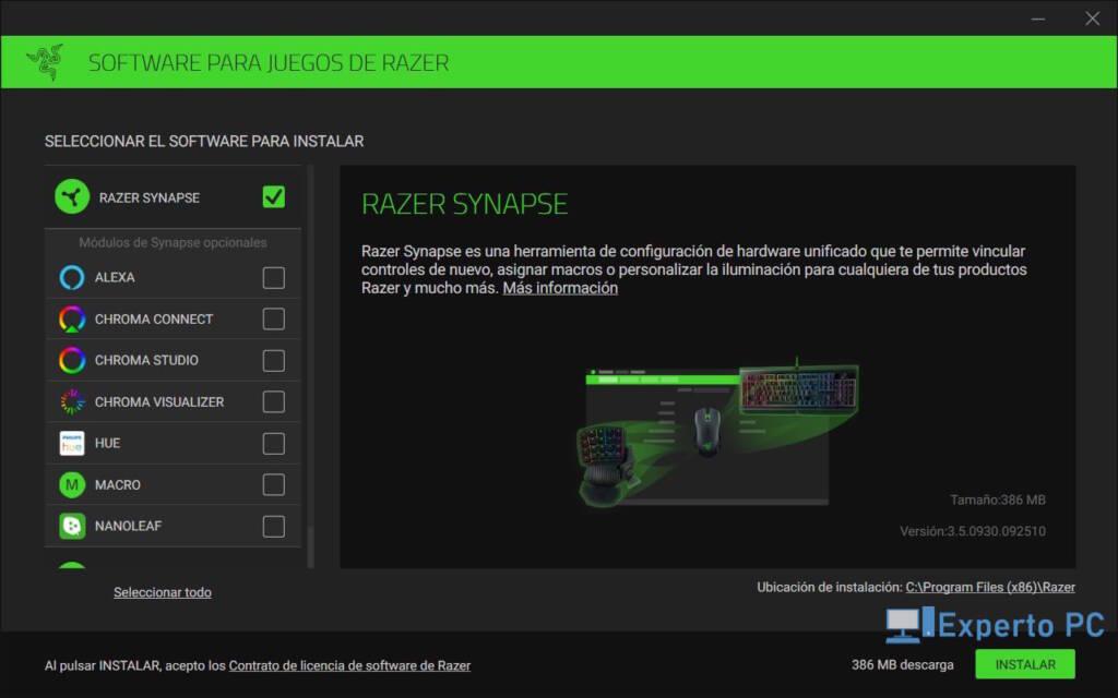 Razer Ornata V2 Review Software Synapse 2 28