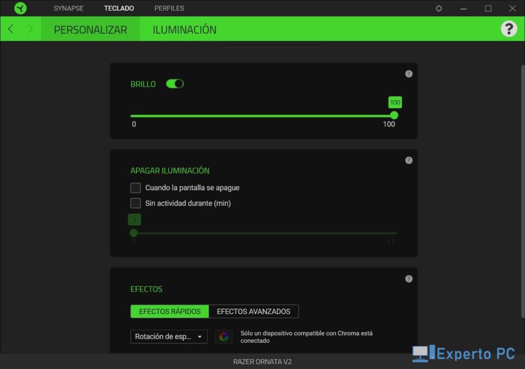 Razer Ornata V2 Review Software Synapse 5 34