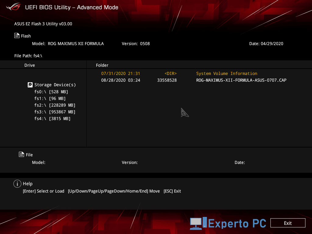 asus maximus xii formula review bios 1 23