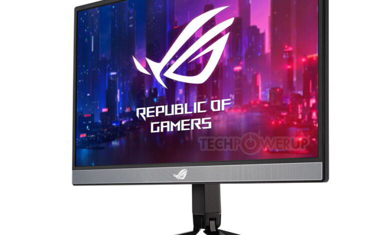 Photo of Asus ROG Strix XG17AHP, monitor gaming portable con peana