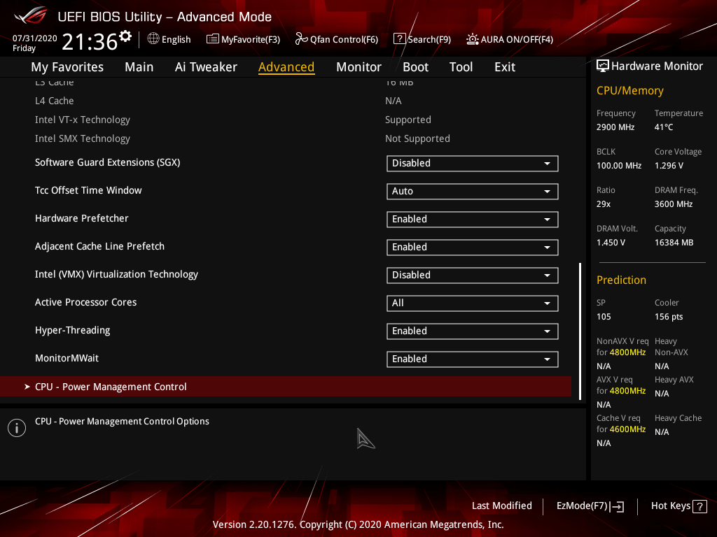 asus rog strix z490 e gaming review bios 10 42