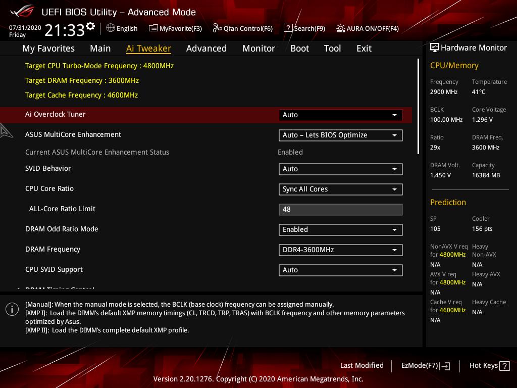 asus rog strix z490 e gaming review bios 3 28