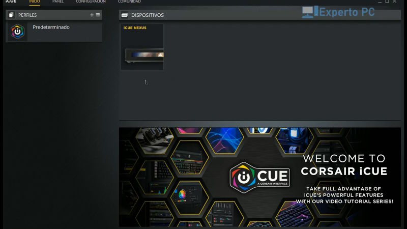 corsair icue nexus companion review software icue 1 9