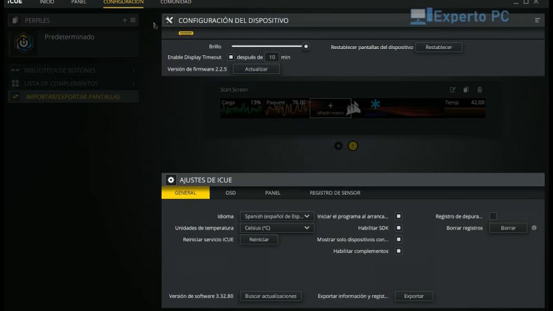 corsair icue nexus companion review software icue 12 37