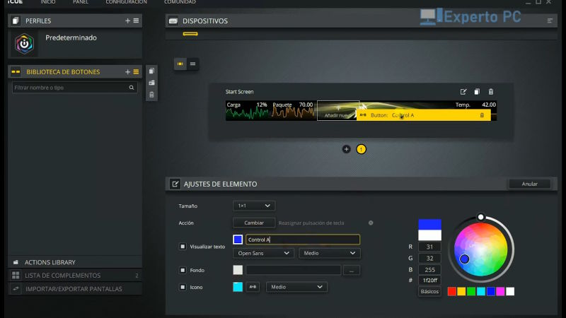 corsair icue nexus companion review software icue 8 29