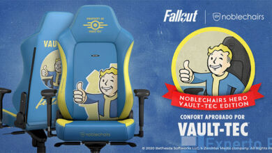 Noblechairs HERO Gaming Chair – Fallout Vault-Tec Edition