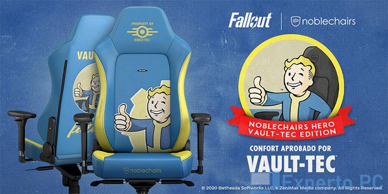 Photo of Presentada la nueva Noblechairs HERO Gaming Chair – Fallout Vault-Tec Edition