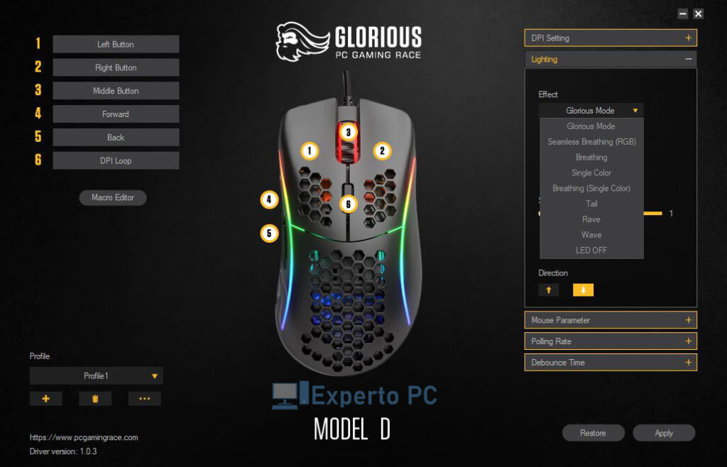 glorious model d software iluminacion 13