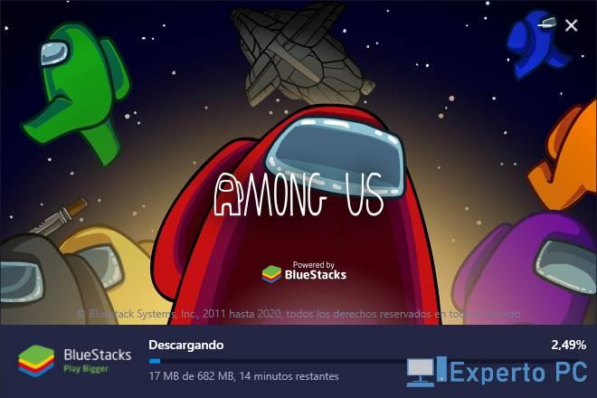 jugar gratis Among Us en tu PC Windows 10 4