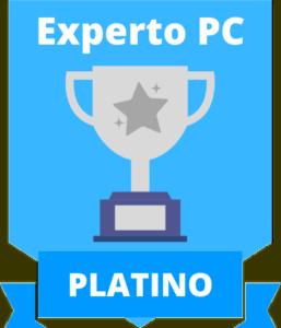 medalla platino 16