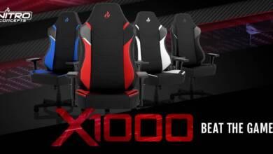 Photo of Nitro Concepts X1000, la silla definitiva para jugar y trabajar