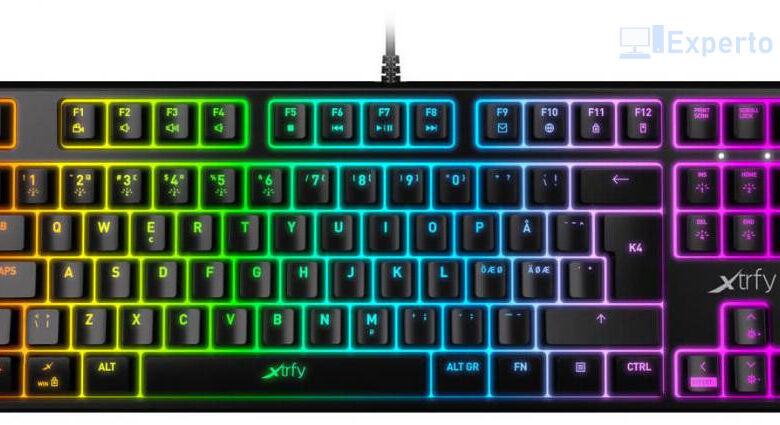 Photo of Caseking pone a tu disposición el teclado Xtrfy K4 TKL RGB y el ratón Xtrfy M4