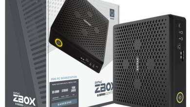 Photo of Zotac ZBOX QCM7T3000, un Mini PC con Intel Comet Lake y GeForce Quadro RTX